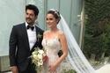 الممثلة التركية فهرية أفجين من حفل زفافها