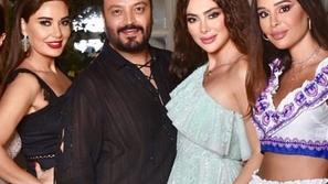 شاهدي رقص سيرين عبد النور بفستان جذاب في حفل خاص للمصمم زهير مراد
