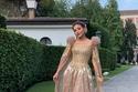 فستان نهى نبيل الثاني في مهرجان فينيسيا 2019