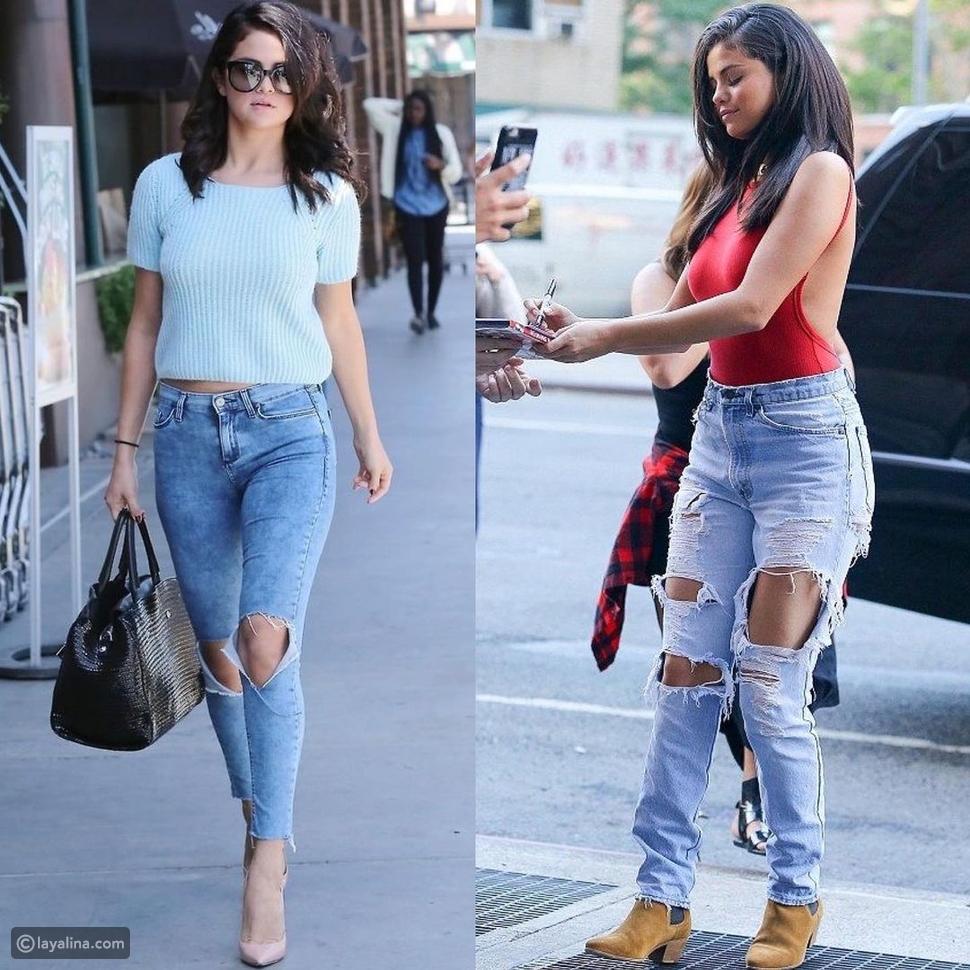 موديلات جينز عصرية على طريقة النجمات والمشاهير: لصيف مليء بالنشاط