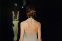 فستان ميدي مع ظهر مفتوح من Bottega Veneta