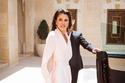 لا تتردد الملكة رانيا في ارتداء اللون الأبيض