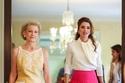 إطلالات الملكة رانيا بأزياء رسمية أنيقة