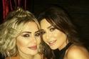 سيرين عبد النور مع شقيقتها سابين