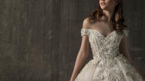 فساتين زفاف ٢٠١٩ بتصاميم ملكية