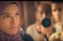 تارا عماد بالحجاب في فيلم الخروج عن النص