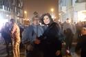 حورية فرغلي في تصوير كواليس فيلم حملة فرعون