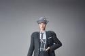 بدلة تنورة مع كورسيه من Thom Browne