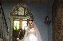 فساتين زفاف تل منفوش متعدد الطبقات من جورج حبيقة