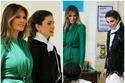 زيارة الملكة رانيا وميلانيا ترامب لإحدى المدارس