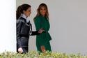 حديث لطيف بين الملكة رانيا وميلانيا ترامب