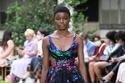 فستان متعدد الألوان من مجموعة زهير مراد هوت كوتور شتاء 2021