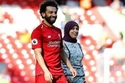 رشاقة زوجة محمد صلاح تشعل الأجواء في أحدث ظهور لها