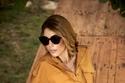فستان قصير من مجموعة داليدا عياش خريف شتاء ٢٠٢٠- ٢٠٢١