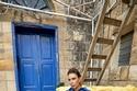 جامبسوت جينز بنطال من  مجموعة داليدا عياش خريف شتاء ٢٠٢٠- ٢٠٢١