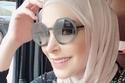 الفنانة أمل حجازي بالحجاب