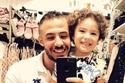 ياسين ابن شقيقة أنغام مع والده