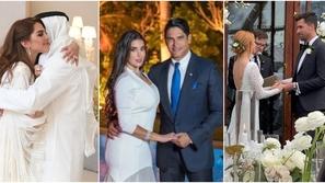 مشاهير احتفلوا بزواجهم فجأة بحفلات بسيطة في تكتم بعيداً عن الأضواء