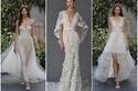 10 صيحات مذهلة لفساتين الزفاف من أسبوع العروس 2017