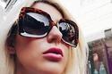 2 النظارة المربعة للوجة الدائري