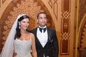 فستان زفاف هبة السيسي المبهر للمصمم هاني البحيري