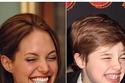 ابن أنجلينا جولي كم يشبهها