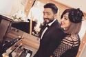 لقطات من عيد ميلاد تامر حسني: رقص وإطلالة زوجته بسمة بوسيل تشعل الحفل