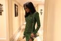 نادين نسيب نجيم جذابة للغاية بفستان أخضر جريء