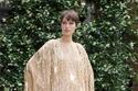 فستان ذهبي قصير من مجموعة Julie de Libran هوت كوتور 2021