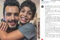 كلمات مؤثرة لأحمد إبراهيم عن ابنه مالك