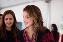 أزياء مطرزة على طريقة الملكة رانيا العبدالله