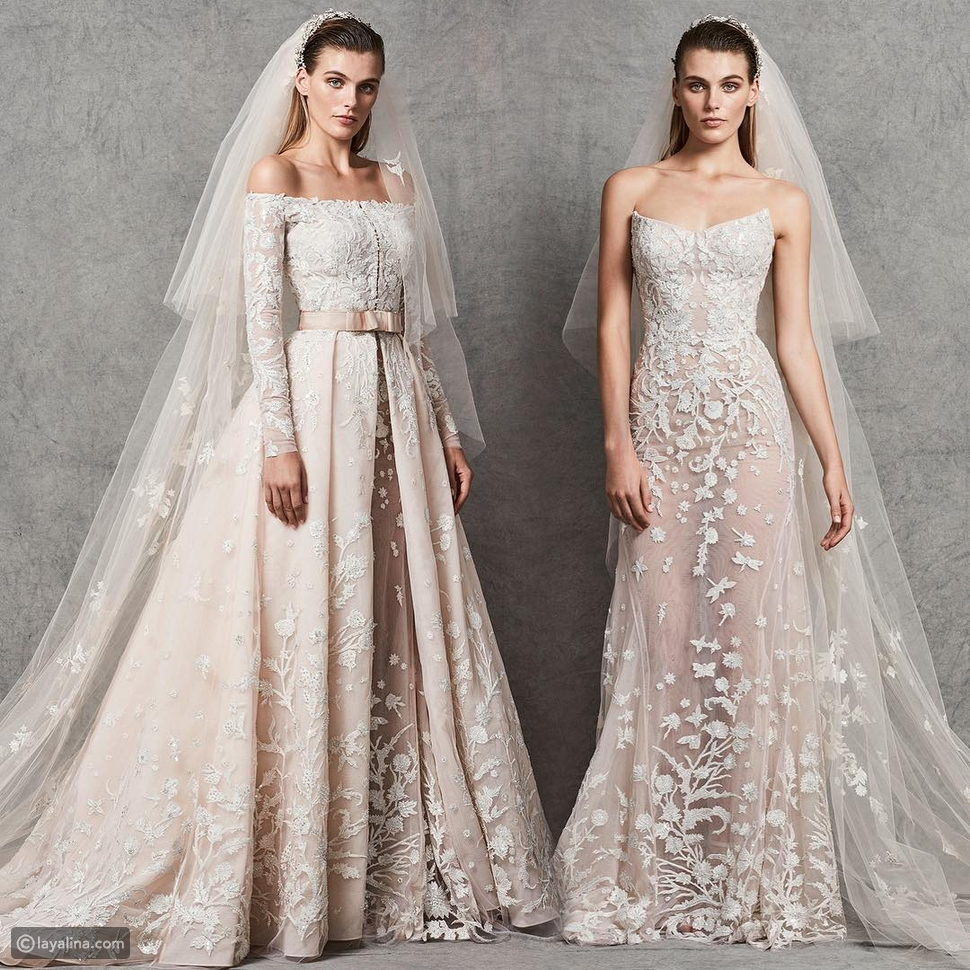 فستان زفاف زهير مراد من مجموعة خريف 2018