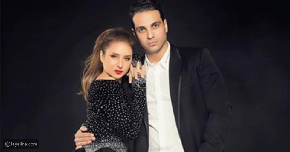 نيللي كريم وزوجها السابق