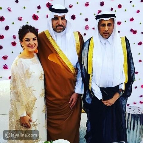 حفل زفاف الأميرة نور بنت عاصم وعمرو زيدان ليالينا