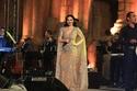 ديانا كرزون بفستان جريء في مهرجان جرش