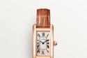 ساعات بسوار رفيع من Cartier Tank Américaine watch