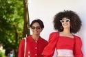 أزياء متنوعة باللون الأحمر من  مجموعة Batsheva ريزورت