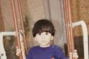 أسيل عمران في طفولتها