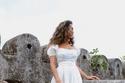 موضة الفساتين الـ Empire Dress الميدي الكاجوال