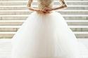 فساتين زفاف موديل سندريلا