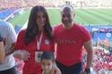 مشاهيردعموا منتخب مصر من المدرجات: نسرين إمام وتامر مرسي
