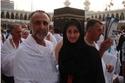 حبيب غلوم وهيفاء حسين في الحرم