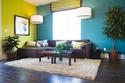 صور ديكورات لغرفة معيشة مفعمة بالحيوية