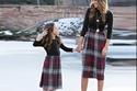 أزياء مماثلة تجمع الأم وابنتها في عيد الأم 2019