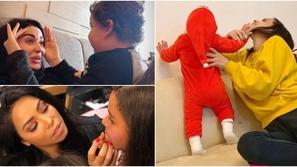 الجانب الآخر من حياة النجمات: صور تكشف كيف يظهرن مع أولادهن!