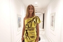 فستان دنيا سمير غانم من بيت أزياء Alexandre Vauthier