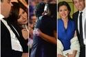 صور عفوية التقطتها الكاميرا تبرز العلاقة الجميلة بين أجمل الثنائيات في حفل توزيع جوائز السينما العربية
