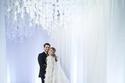 صورة رسمية لحفل زفاف ريتا دحدح وزوجها توفيق فواز
