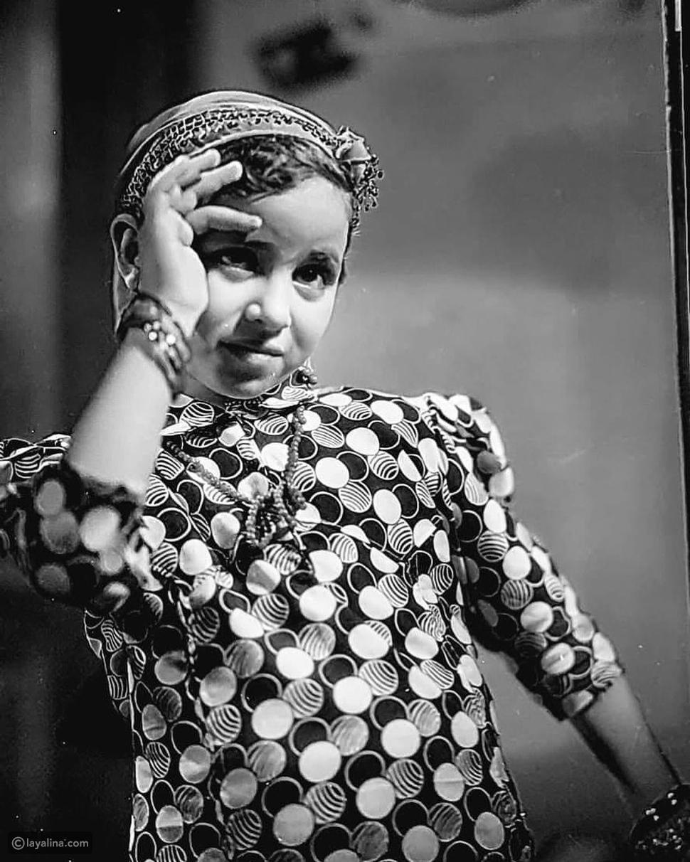 صورة نادرة لفاتن حمامة أثناء طفولتها منذ 81 عاماً: هل تغير شكلها؟