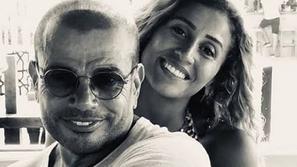 فنانة خليجية تفجر مفاجأة بإعلانها زواج عمرو دياب ودينا الشربيني رسميا!